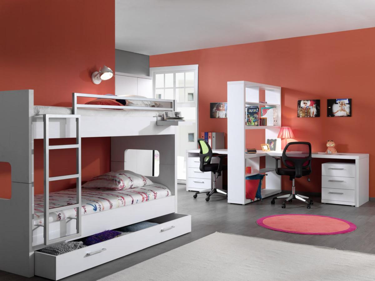 Lits superpos s meubles moens - Lits superposes rabattables ...
